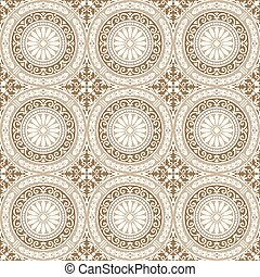 Vector Seamless Tile Pattern - Repeating vector background...