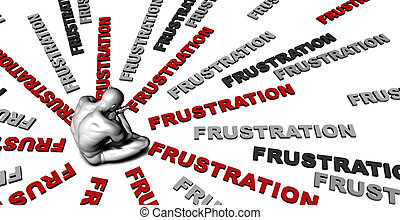 Frustration - Suffering From Frustration with a Victim...
