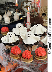 Sweets for Halloween - Smorgasbord of biscuit with brains...