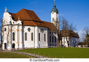 wieskirche sanctuary - wieskirche sancturary