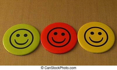 Smile icon. Symbol of happiness, success, good mood and life...