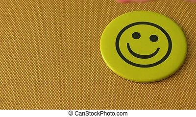 Smile icon. Symbol of happiness