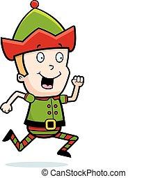 Elf Running