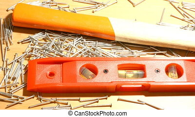 A slide over a set of different too - A tools set of a...