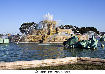 Renovated Buckingham Fountain in Chicago