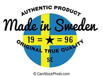 Made in Sweden stamp