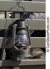 Military lamp oil