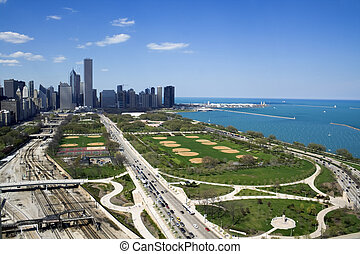 Grant Park in Chicago, IL.