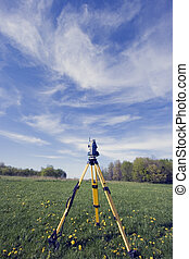 Surveying during spring time - Surveying during the spring...