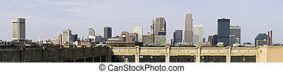 XXXL Panorama of Downtown Cleveland