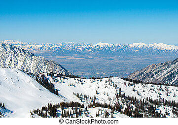 Valley from the Bird - A view of salt lake valley captured...