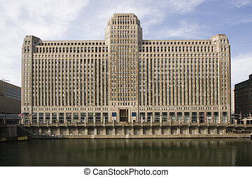 Merchandise Mart in Chicago, IL.
