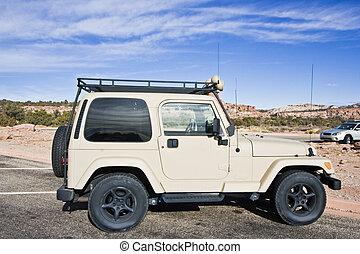 SUV seen in Utah