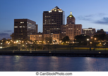 Downtown Milwaukee, Wisconsin.