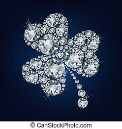 Clover made a lot of diamonds