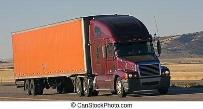 Semi- camión