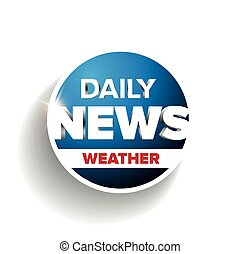 Daily news weather