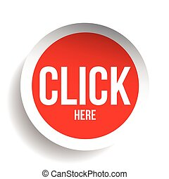 Click here icon button