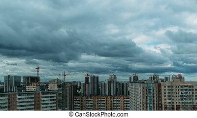 Multi-storey residential buildings, sleeping area. movement...