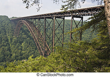 New River Gorge Bridge in West Virginia .