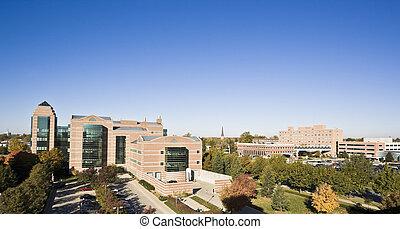 Champaign - University Buildings.