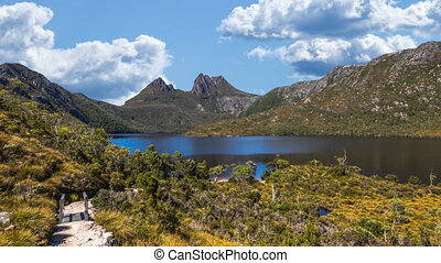 Walkway to Cradle Mountain - The walkway up to Cradle...