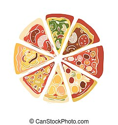 Pizza, sketch for your design