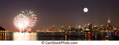 the Macys 4th of July fireworks displays - The fireworks in...