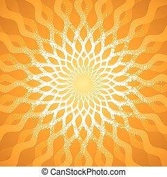Abstract Pattern - Abstract radiate sunlight pattern...
