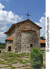 Old medieval church  in monastery