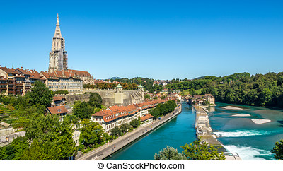 View at the Bern ,Capital of Switzerland - View at the Bern...