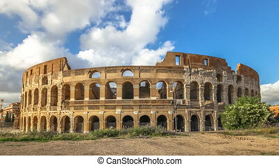 Colosseum time lapse - Sunset time lapse and hyper lapse in...