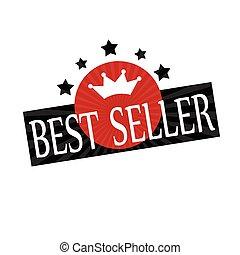 Best Seller-label