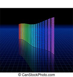 Spectrum graphic equalizer
