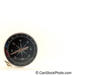 Little old pocket compass, the device indicates the...