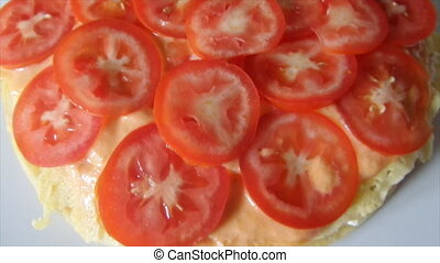 Tomato Slices Layer