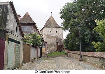 Furriers Tower, Sighisoara - Furriers Tower Turnul...