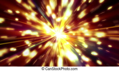 star explosion color abstract