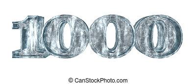 frozen thousand hundred - 3d rendering