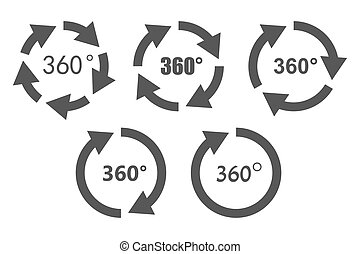 360 degree Clip Art Vector Graphics. 692 360 degree EPS clipart ...