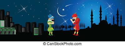 Ramadan fasting, night entertainmen - Mid-game players....
