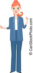 Business woman silhouette - Vector business woman silhouette...