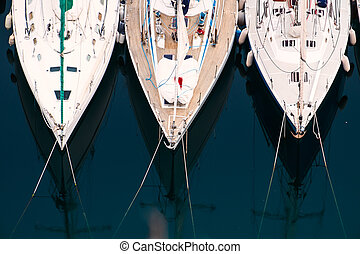 Luxury yachts to drop anchor in seaport - Luxury yachts...