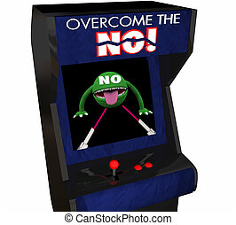 Overcome the No Beat Objection Persuasion Arcade Game 3d...