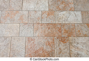 Polished Tile Floor - A polished tile floor for background...