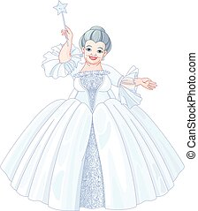 Fairy Godmother - Illustration of very cute fairy godmother...