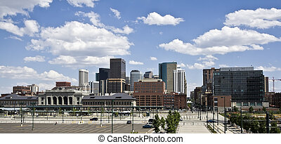 Skyscrapers in Denver, Colorado