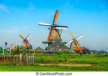 Historyczny, Holenderski, wiatraki