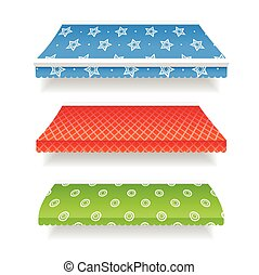 Colorful Awnings. Vector
