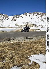 Biking in Colorado - spring time